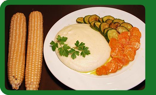 Polenta Zucchine e Carote